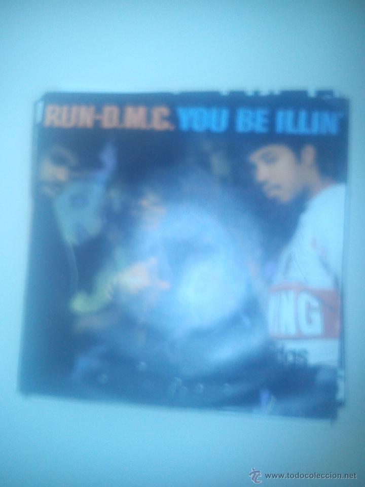 B1 RUN-D.M.C. SINGLE YOU BE ILLIN' EDICION ESPAÑOLA 1986 (Música - Discos - Singles Vinilo - Rap / Hip Hop)