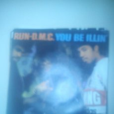Discos de vinilo: B1 RUN-D.M.C. SINGLE YOU BE ILLIN' EDICION ESPAÑOLA 1986. Lote 43431898