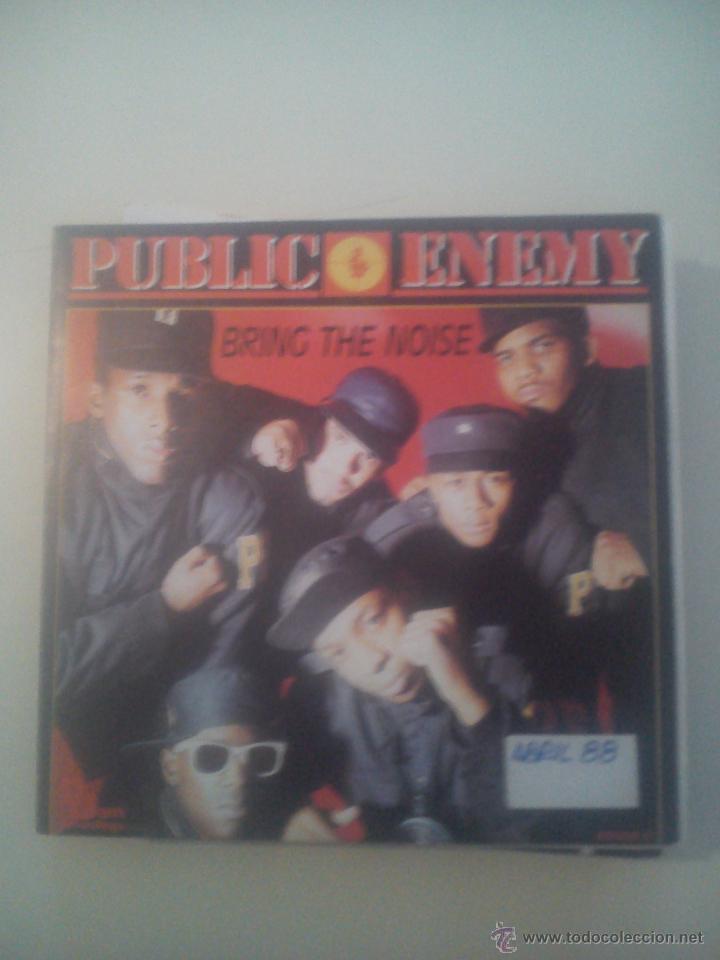 B1 PUBLIC ENEMY - BRING THE NOISE - SPANISH PROMOTIONAL (Música - Discos - Singles Vinilo - Rap / Hip Hop)
