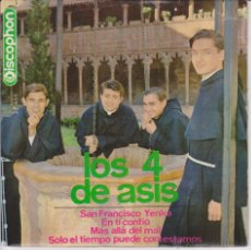 Discos de vinilo: LOS 4 DE ASIS - SAN FRANCISCO YENKA -+ 3 EP SPAIN 1966 VG++ / VG++. Lote 43438788