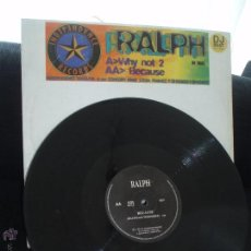 Discos de vinilo: RALPH. WHY NOT 2 , BECAUSE-INDEPENDANCE RECORDS, FRANCE. Lote 43439600