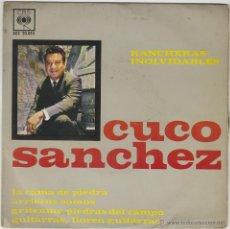 Discos de vinilo: CUCO SANCHEZ. GUITARRAS, LLOREN GUITARRAS Y OTRA. SINGLE DEL SELLO CBS (AGS 20.055) DEL AÑO 1963. Lote 43439837