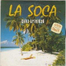 Discos de vinilo: CUBA TRINIDAD, BAILAR LA SOCA EN LA PLAYA / SOCA DANCE, SINGLE EDITADO POR PERFIL EN 1990. Lote 125887467