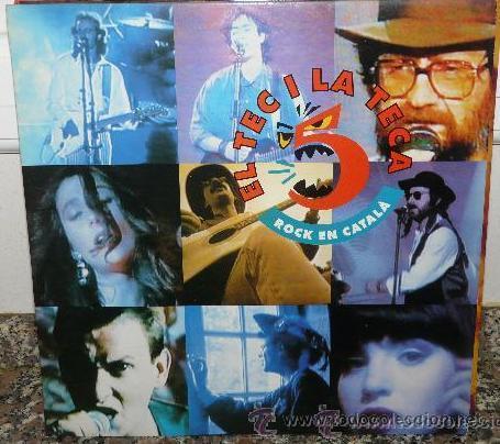 EL TEC I LA TECA Nº 5 * LP * NUEVO * LAS MEJORES BANDAS INDIE - POP * CATALUNYA (Música - Discos - LP Vinilo - Grupos Españoles de los 70 y 80)