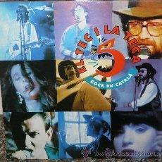 Discos de vinilo: EL TEC I LA TECA Nº 5 * LP * NUEVO * LAS MEJORES BANDAS INDIE - POP * CATALUNYA. Lote 11269481