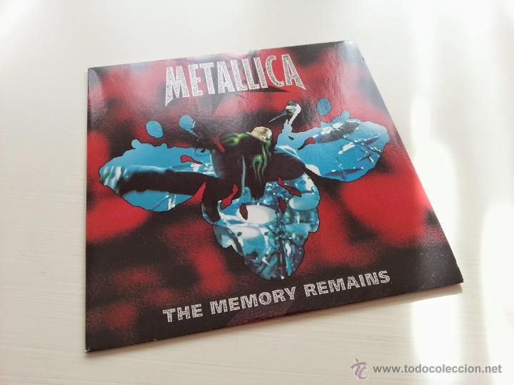 METALLICA - THE MEMORY REMAINS - UK ENGLAND SINGLE - VERTIGO RECORDS - VINILOVINTAGE (Música - Discos - Singles Vinilo - Heavy - Metal)