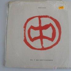 Discos de vinilo: MECANO - EL 7 DE SEPTIEMBRE - MAXI - ARIOLA 1991 SPAIN. Lote 43441597