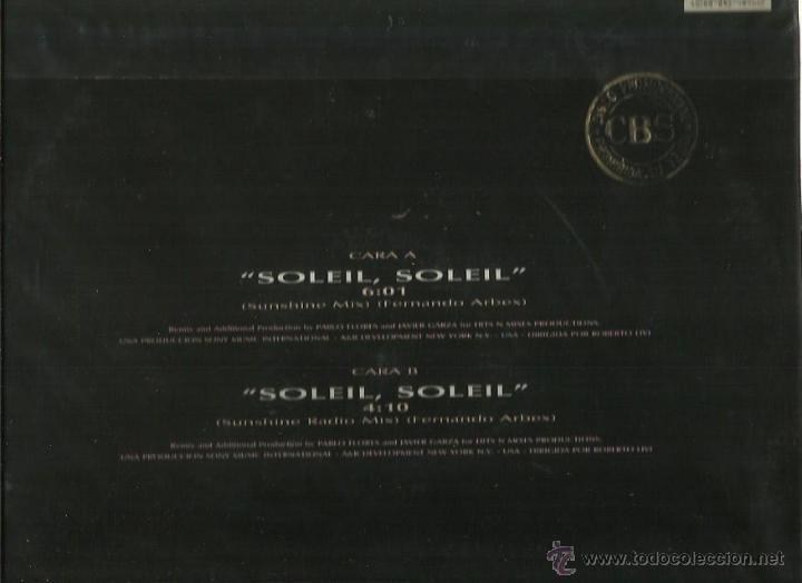 Discos de vinilo: CHAYANNE MAXI.SINGLE SELLO CBS AÑO 1991 - Foto 2 - 43442084