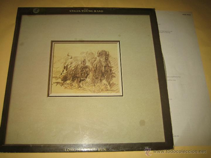 STILLS - YOUNG BAND - ED. ESPAÑOLA 1976- CONTIENE FOLLETO (Música - Discos - LP Vinilo - Pop - Rock - Extranjero de los 70)