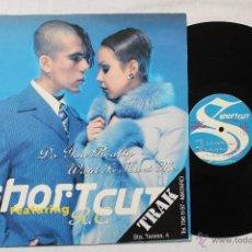 Discos de vinilo: SHOR T CUT FEATURING R.C. MAXI SINGLE ARCADE 1997. Lote 43445363