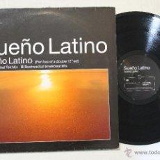 Discos de vinilo: SUEÑO LATINO MAXI VINYL 1989. Lote 43445901