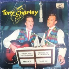 Discos de vinilo: RARO EP TONY AND CHARLEY- RAMONA/ PARA MI +2, 1961- MUY BUEN ESTADO! POP ROCK ESPAÑOL AÑOS 60 . Lote 43446799