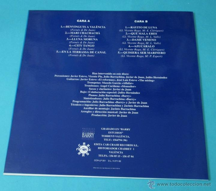 Discos de vinilo: VICENTE RAMÍREZ. BENVINGUTS A VALÈNCIA. CANAL 92. DEDICATORIA AUTÓGRAFA - Foto 2 - 43449410