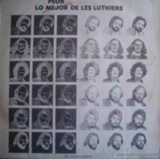 Discos de vinilo: LP RECOPILATORIO DE LES LUTHIERS AÑO 1976 EDICIÓN ARGENTINA. Lote 26575128