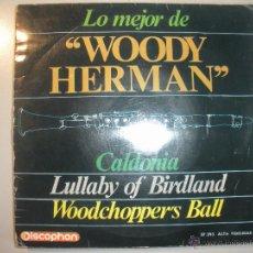Discos de vinilo: MAGNIFICO SINGLE - DE WOODY - HERMAN -. Lote 43463833
