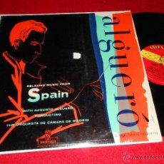 Discos de vinilo: ALGUERO HIJO RELAXING MUSIC FROM SPAIN LP 196? MONTILLA EDICION AMERICANA USA . Lote 43465928