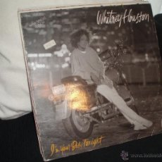 Discos de vinilo: WHITNEY HOUSTON-I´M YOUR BABY TONIGHT. 3 TEMAS .MAXI, ARISTA, BMG ARIOLA. Lote 43476137