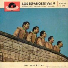 Discos de vinilo: ESPAÑOLES, EP, MORRIÑA + 3, AÑO 1960. Lote 43478287