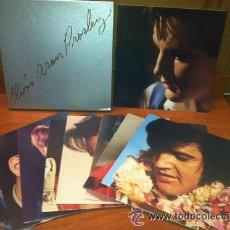 Discos de vinilo: ELVIS PRESLEY / 25TH ANNIVERSARY 1955 - 1980 ( CAJA 8 LPS, LIMT. EDIT. NUMERADA + LIBRETO / USA EDIT. Lote 43480457