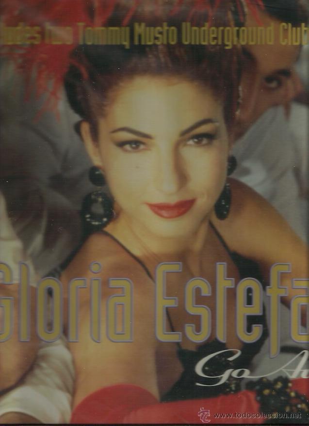 GLORIA ESTEFAN MAXI. SINGLE SELLO EPIC AÑO 1993 (Música - Discos de Vinilo - Maxi Singles - Solistas Españoles de los 70 a la actualidad)
