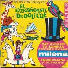 Discos de vinilo: SINGLE-MILENA EL EXTRAVAGANTE DR. DOLLITLE-BELTER 07410-1968-CHICA YE YE. Lote 43496021