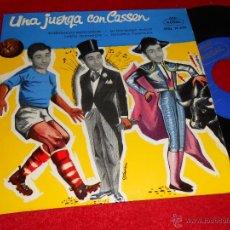 Disques de vinyle: CASSEN UNA JUERGA CON.INTERFERENCIAS RADIOFONICAS/EN ESTE MUNDO TRAIDOR +2 EP 1959 REGAL. Lote 43497001