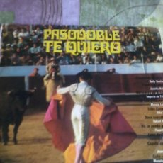 Discos de vinilo: PASODOBLE TE QUIERO. C5V. Lote 43497401