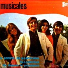 Discos de vinilo: LP LOS 5 MUSICALES : RARO LP EDITADO EN PORTUGAL. Lote 43504080