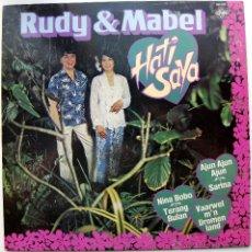 Discos de vinilo: RUDY & MABEL - HATI SAYA - LP CNR 1980 HOLANDA BPY. Lote 43505072