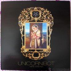 Discos de vinilo: UNICORNIBOT - HARE KRISKNA - LP - LIMITADO A 300 - 2010 / STONER ROCK / PSYCHEDELIC ROCK. Lote 43506228