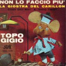 Discos de vinilo: TOPO GIGIO - PEPPINO MAZZULLO, EP, COSA DICI MAI ! + 3, AÑO 1964. Lote 43507264