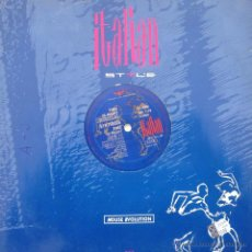 Discos de vinilo: SYNTHESIS - TIME IS RIGHT . MAXI SINGLE . 1993 ITALIAN STYLE PRODUCTION - ISP 1175 . Lote 43508004