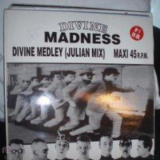 Discos de vinilo: MADNESS- DIVINE MEDLEY(JULIAN MIX).MAXI PROMOCIONAL. Lote 43508556