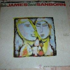 Discos de vinilo: BOB JAMES & DAVID SANBORN - DOUBLE VISION - LP. Lote 43512293