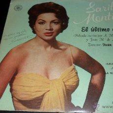 Discos de vinilo: SARITA MONTIEL , EL ULTIMO CUPLE - EP . Lote 43513684