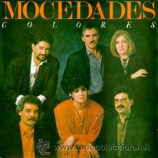 Discos de vinilo: MOCEDADES / COLORES ( DONOVAN, RARA ORG USA EDIT. !! PRECINTADO !! ). Lote 150787197