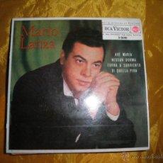 Discos de vinilo: MARIO LANZA. AVEMARIA / NESSUM DORMA + 2. EP. RCA VICTOR 1962. Lote 43517834