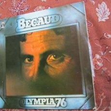 Discos de vinilo: LP DE VINILO DOBLE DE GILBERT BECAUD-TITULO OLIMPIA 76-ORIGINAL DEL 76- DISCO NUEVO A ESTRENAR. Lote 43519516