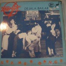 Discos de vinilo: MAGNIFICO LP DE - LET - HER - DANCE _. Lote 43522170