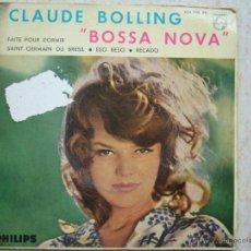 Discos de vinilo: CLAUDE BOLLING - BOSSA NOVA. Lote 43526471