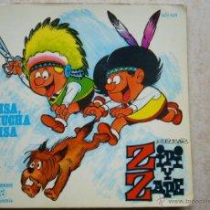 Discos de vinilo: ZIPI Y ZAPE - RISA, MUCHA RISA - DISCO-COMIC. Lote 43526583