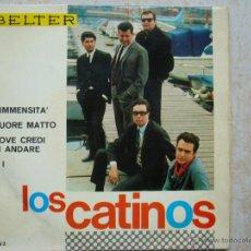 Discos de vinilo: LOS CATINOS - L'IMMENSITA' +3. Lote 43526764