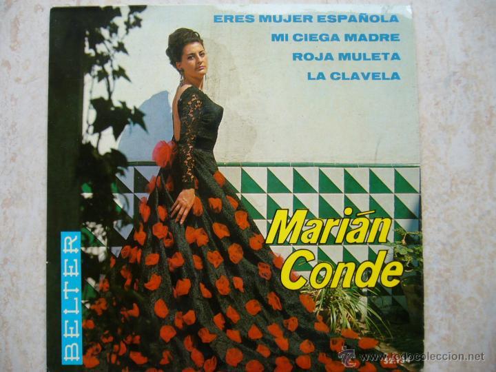 MARIAN CONDE - ERES MUJER ESPAÑOLA +3 (Música - Discos de Vinilo - EPs - Flamenco, Canción española y Cuplé)