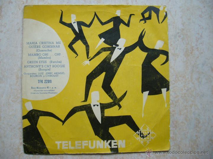 TELEFUNKEN - MARIA CRISTINA ME QUIERE GOBERNAR +3 (Música - Discos de Vinilo - EPs - Otros estilos)
