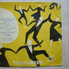 Discos de vinilo: TELEFUNKEN - MARIA CRISTINA ME QUIERE GOBERNAR +3. Lote 43527198