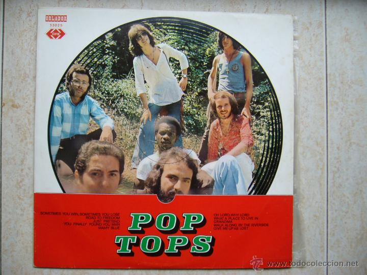 Discos de vinilo: POP TOPS - LP - Foto 1 - 43527272