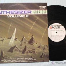 Discos de vinilo: SYNTHESIZER GREATEST VOLUMEN 2 LP VINYL ARCADE NETHERLAND 1989. Lote 43529469