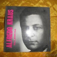 Discos de vinilo: ALFREDO KRAUS. ORQUESTA DE CAMARA DE MADRID. VALENCIA + 3. EP. MONTILLA 1959. Lote 43534226