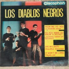 Discos de vinilo: LOS DIABLOS NEGROS ‎– FROM ME TO YOU +3-DISCOPHON-1964. Lote 43536157