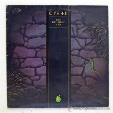Discos de vinilo: CRETU - 'THE INVISIBLE MAN' (LP VINILO. ORIGINAL 1985). Lote 43541099
